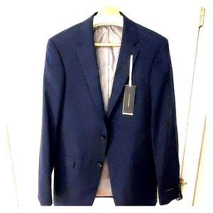 Tommy Hilfiger stretch adams blue blazer 38L NWT